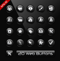 Icons for Web Developers -- Black Label Series