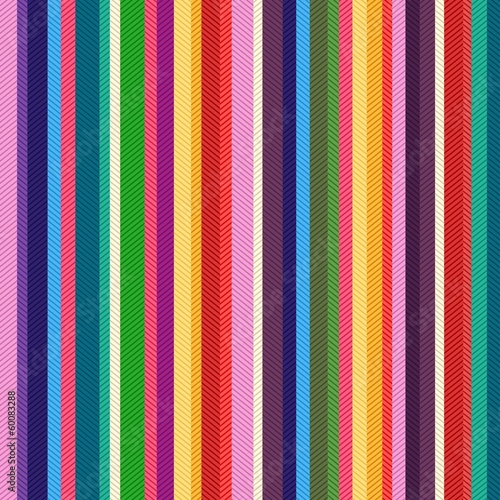 Materiał do szycia seamless colorful stripes textured pattern