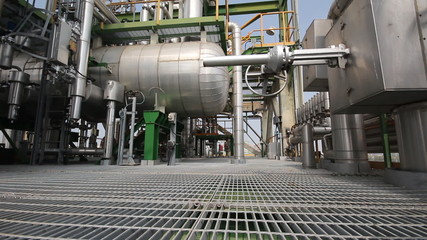 Process area in refinery plant