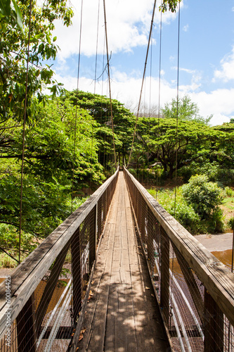 Narrow bridge Kauai Hawaii