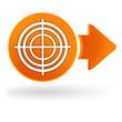 diagnostic sur symbole web orange