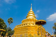 Golden Pagoda at Wat Phra That Sri Chom Thong,  Thailand.