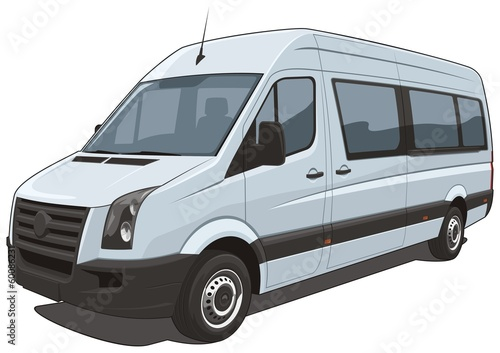 Vector isolated van