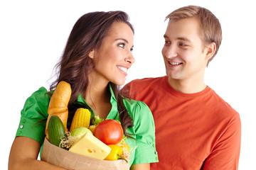 Happy vegetarians