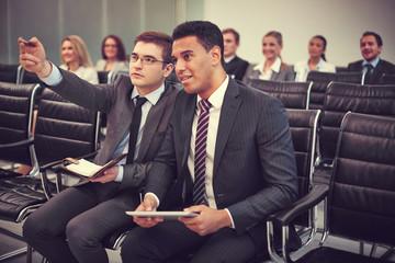 Working at seminar