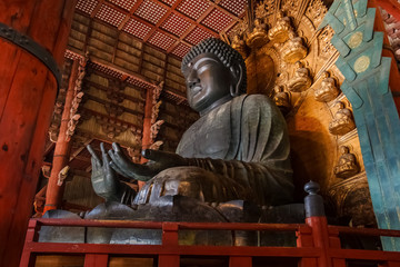 Daibutsu at Todaiji Temple in Nara