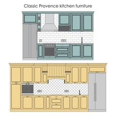 Classic Provence kitchen furniture