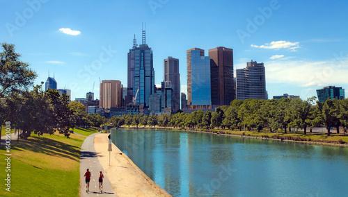 Fotobehang Stad aan het water Melbourne, Victoria, Australia