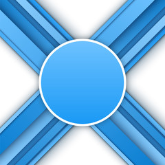 Abstract 3D blue background.