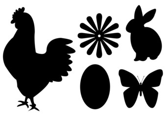 Ostern Icons