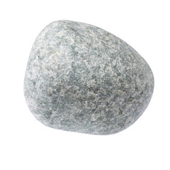 stone is isolated on a white background