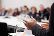 man having presentation at seminar - 60092652