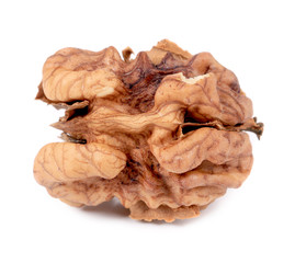 Close up of kernel walnut.