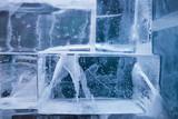 ice blocks wall - 60093455