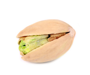 Close up of pistachios.
