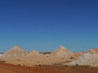 The opal mines of Coober Pedy in Australia