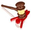 Opfer der Justiz oder Verurteilung eines Straftäters