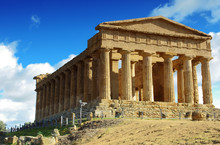 Vallée des Temples - Agrigente - Sicile