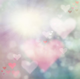Fototapety Valentines day abstract  background