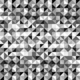 Black and white geometric triangles seamless pattern