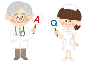 医者と看護師 Q&A