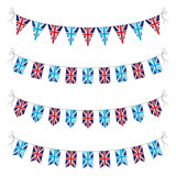 set of uk bunting