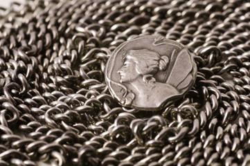 Silver portrait