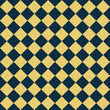 Navy Blue and Yellow Diagonal Checkers on Textured Fabric Backgr