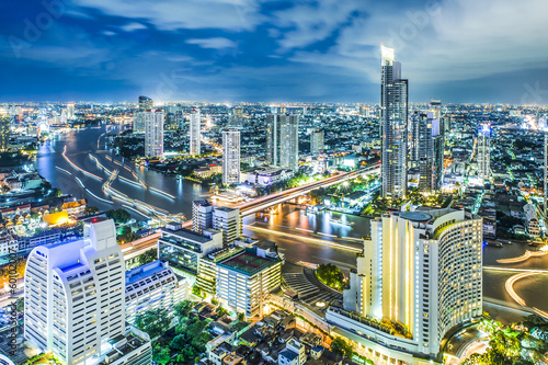 City scape in Bangkok Thailand