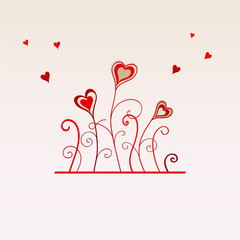 CARTE DE LA SAINT VALENTIN (amour déclaration coeur je t'aime)