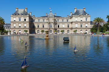 Luxembourg palace in Paris.