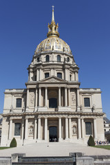 Les Invalides, Paris, France.