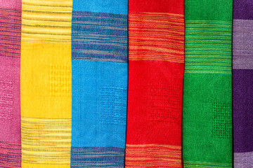 Colorful Local Fabric