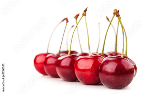 Fresh red cherry © dimasobko