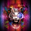 Постер, плакат: Азиатский тигр