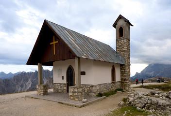 Kapelle in den Dolomiten - Alpen
