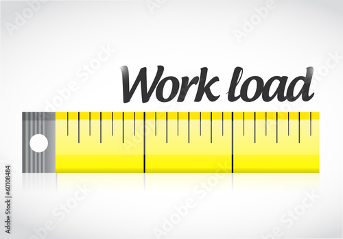measure work load illustration design