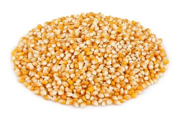 corn dry kernels heap