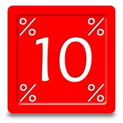 Bottone sconto 10%