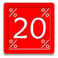 Bottone sconto 20%