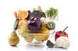 insalatiera con frutta e verdura
