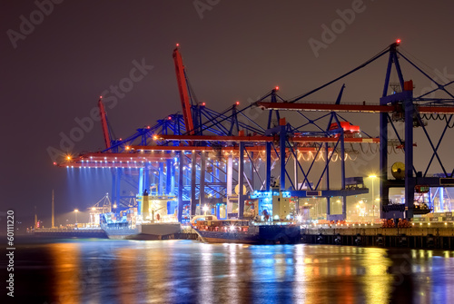 canvas print picture Hamburger Hafen