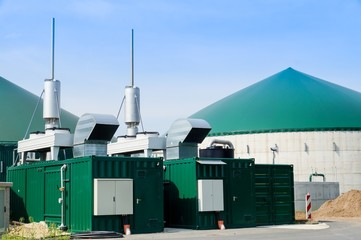 Biogasanlage, Generator