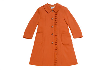children's topcoat of thick cloth