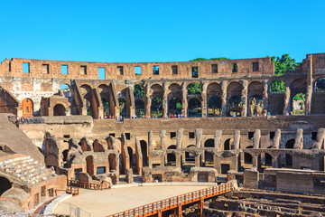 Amphitheater Colosseum in Rome