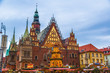 Poland, Wroclaw city with it's landmark - Town Hall in tradition