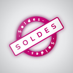 Soldes - Illustration vectorielle