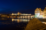 Prague. Panoramic image of Prague, capital city of Czech Republi