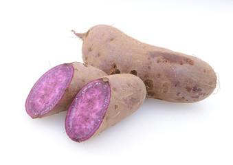 紫色のサツマイモ