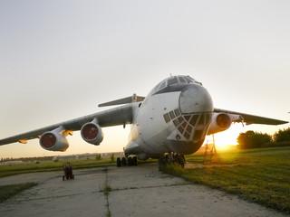 Abandoned russian aircraft
